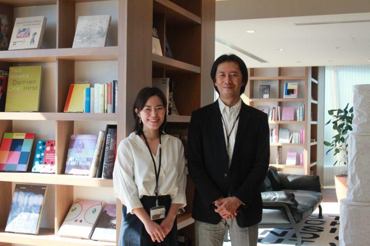 CCCマーケティング株式会社の白田静香さまと、上司の丹尾さまのインタビュー